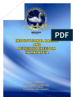 Institutional Racism & Religious Freedom