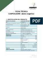 Ficha Tecnica Campoalegre Enero 2012