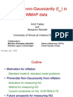 Amit Yadav and Benjamin Wandelt- Primordial non-Gaussianity (fNL) in WMAP data