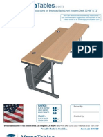Split Level Computer Tables (ST Series) Assembly Instructions