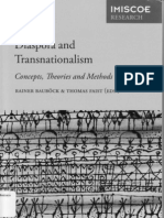 BAÜBOCK e FAIST, Diaspora and Transnationalism Concepts, Theories and Methods