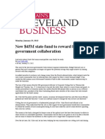 New $45M State Fund to Reward Local Government Collaboration