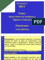Aula de Luís Queiroz - RMIT - HT - FJT - 06-11-2010 - IBET SALVADOR