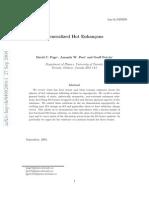 David C. Page, Amanda W. Peet and Geoff Potvin- Generalized Hot Enhancons