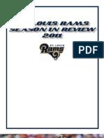 Rams 2011 Season in Review