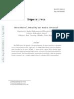 David Mateos, Selena Ng and Paul K. Townsend- Supercurves