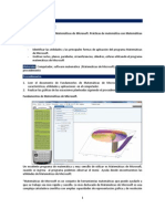 matemáticas de Microsoft. graficas de ecuaciones