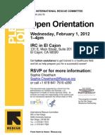 Switch Orientation Flyer