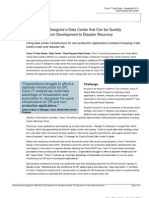 Cisco IT Dual Purpose Data Center Case Study