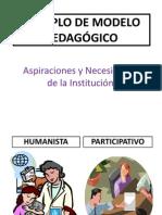 EJEMPLO DE MODELO PEDAGÓGICO
