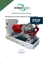 Langson Energy Inc-White-Paper-2011-11 Gas Pressure Letdown