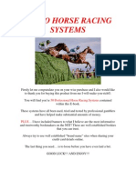 50 Pro Horse Racing Systems
