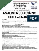 ANALISTA JUDICI¦RIO - TIPO 1