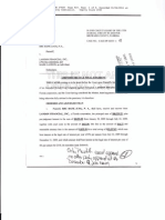 Final Judgement Against Landon Financial Inc  Broward County Florida by RBC Bank