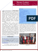 BRSI News Letter Vol 9(1), January 2012