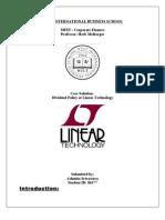 Linear Technology Case- Ashmita Srivastava