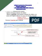 Instructivo Inscripciones vía web Economía UCV