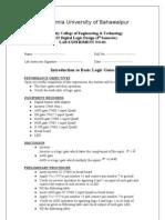 DLD Lab Manual