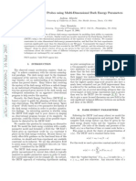 Andreas Albrecht and Gary Bernstein- Evaluating Dark Energy Probes using Multi-Dimensional Dark Energy Parameters