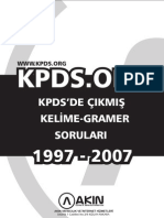 KPDS ORG Tum Gramer Kelime Sorulari