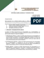 Informe de Coordinación 2009/12