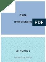 Fisika Optik Geometri