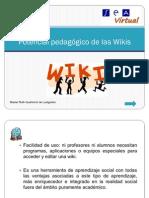 Potencial Pedagogico de Las Wikis