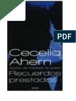0022 Ahern, Cecelia - Recuerdos Prestados