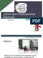 Cómo hacer Presentaciones Efectivas