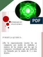 Unidad IV (Enlaces Quimicos)
