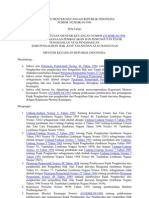 KMK 392 1996 - Pajak Penghasilah Dan Hak Atas Tanah
