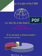 Wayne Hu- Dark Energy in Light of the CMB