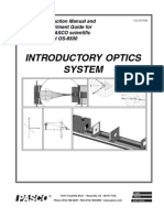 Manual Optica PASCO