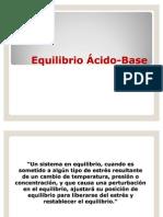 Equilibrio Hidrosalino y Acido- Base 2010