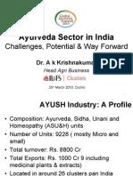 Mr a K Krishnakumar
