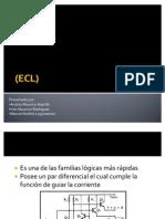 Lógica de emisor acoplado (ECL)