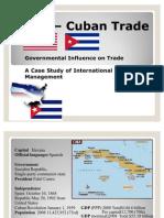 US n Cuba trade