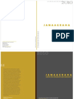 Janaagraha 2010 2013 Book