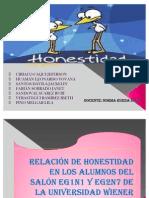 honestidad EXPOSICION