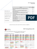 Sterling Inspection - 2012 Education Price List