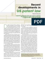 Patent Law changes
