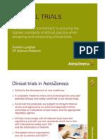 Clinical Trials AztraZeneca