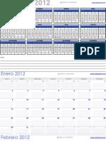 Cal End a Rio Excel 2012