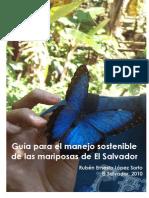 Guia Para El Manejo Sostenible de Las Mariposas de El Salvador
