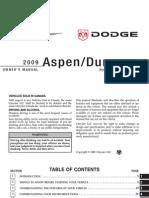 Free PDF eBook.com 2009 AspenDurango HEV SUPP 2nd