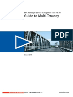 BMC Remedy IT Service Management 7.6.00 Guide to Multi-Tenancy