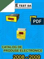 EE TEST S.a. - Catalog 2008 Productie
