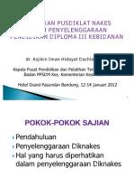 01Kebijakan Pusdiklatnakes D3 Bidan - Dr. Iman HD, MHA
