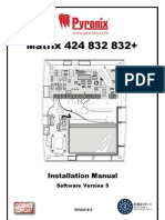RINS918-3 Matrix 424, 832, 832+ V4.0 Installation NEW RKP