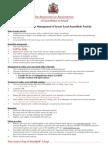 AAGBI Guidelines